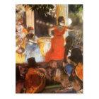Cafe Concert at Les Ambassadeurs by Edgar Degas Postcard