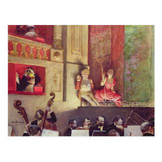 Cafe Concert Postcard