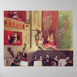 Cafe Concert Print