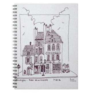 Cafe De La Mairie | Boulogne-Sur-Mer, France Notebooks