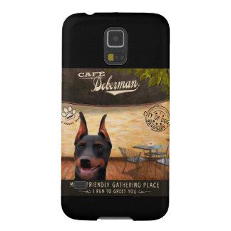 Cafe Doberman Galaxy S5 Case