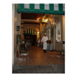 Cafe Du Monde New Orleans Side walk Cafe Coffee Poster