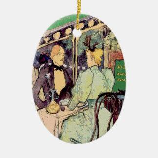 Cafe Du Monde Vintage Style Christmas Ornament