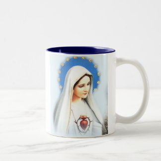 Café Fatima Mug, large Two-Tone Coffee Mug