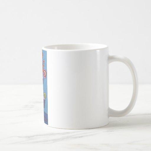 Cafe Flora Basic White Mug