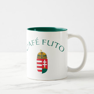 Cafe Futo Two-Tone Coffee Mug