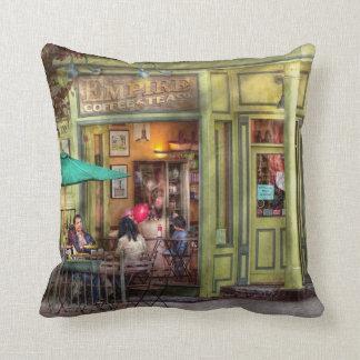Cafe - Hoboken, NJ - Empire Coffee & Tea Cushion