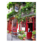 Cafe in Paris Post Card