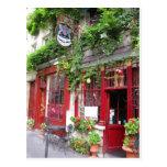 Cafe in Paris Postcard