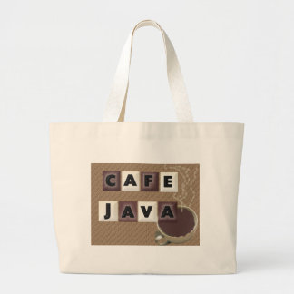Cafe Java Tote Bags
