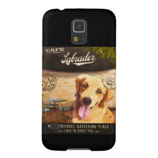 Cafe Labrador Galaxy S5 Cases