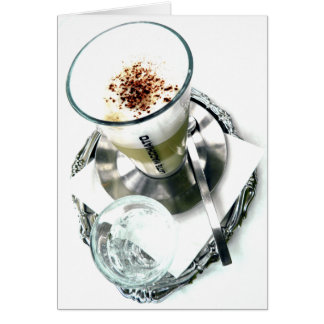 Cafe Latte Fix Card
