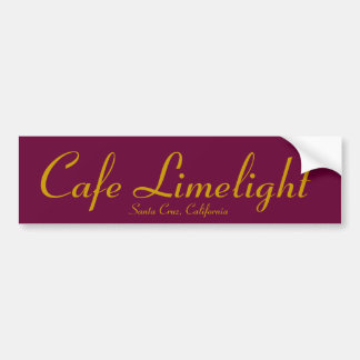 Cafe Limelight Sticker