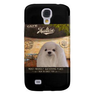 Cafe Maltese Galaxy S4 Case