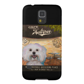 Cafe Maltipoo Cases For Galaxy S5