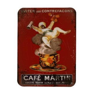 Cafe Martin Coffee Genie Rectangular Photo Magnet