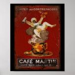 Cafe Martin Genie Print