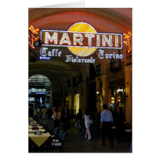 Cafe Martini Card
