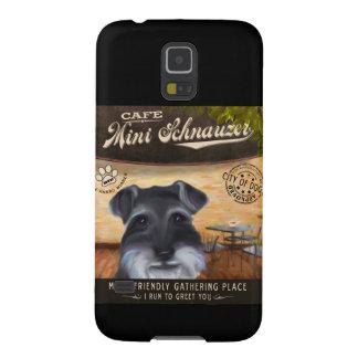 Cafe Mini Schnauzer Galaxy S5 Case
