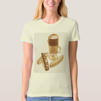 Cafe Mocha and Biscotti T-shirt