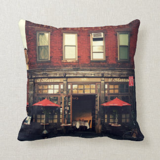 Cafe - New York City Cushion