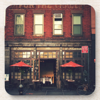 Cafe - New York City Drink Coasters