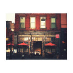 Cafe - New York City Gallery Wrapped Canvas