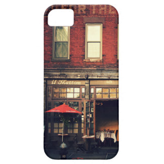 Cafe - New York City iPhone 5 Cover