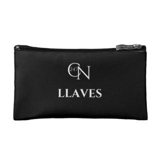 Café Novela Llaves Small Cosmetic Bag