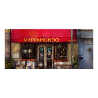 Cafe - NY - Chelsea - Mappamondo Custom Rack Card