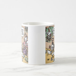Cafe Or Office Basic White Mug