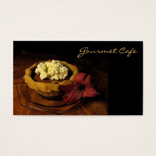 Cafe or Restaurant Business Card