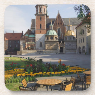 Cafe overlooking Wawel Cathedral, Wawel Hill, Drink Coaster