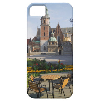 Cafe overlooking Wawel Cathedral, Wawel Hill, iPhone 5 Cases