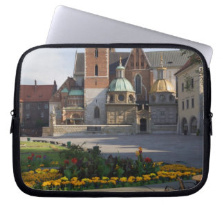 Cafe overlooking Wawel Cathedral, Wawel Hill, Laptop Sleeve