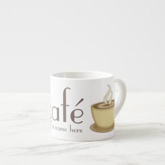 Café Personalised Espresso Cup