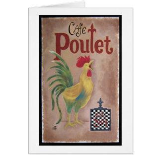 Cafe Poulet Card