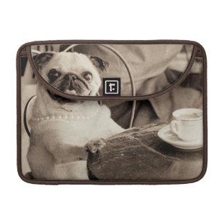 Cafe Pug Sleeve For MacBook Pro