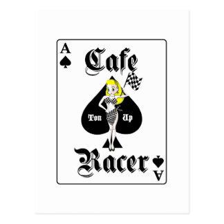 Cafe Racer Blonde Post Card