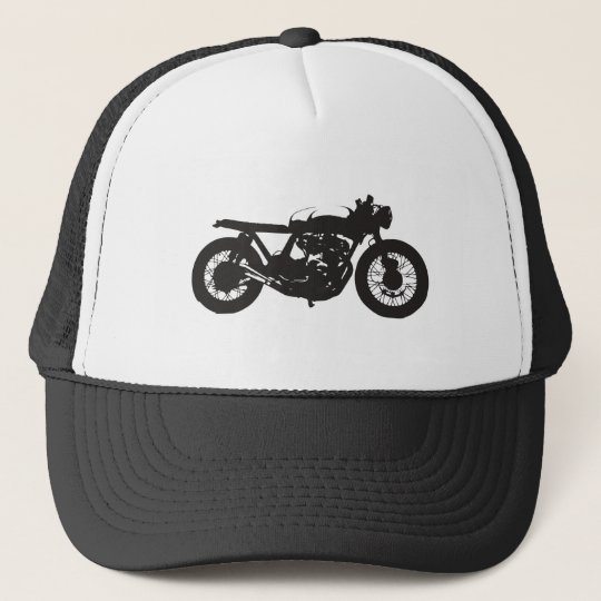 Cafe Racer / Brat Motorcycle Vintage Cool Stencil