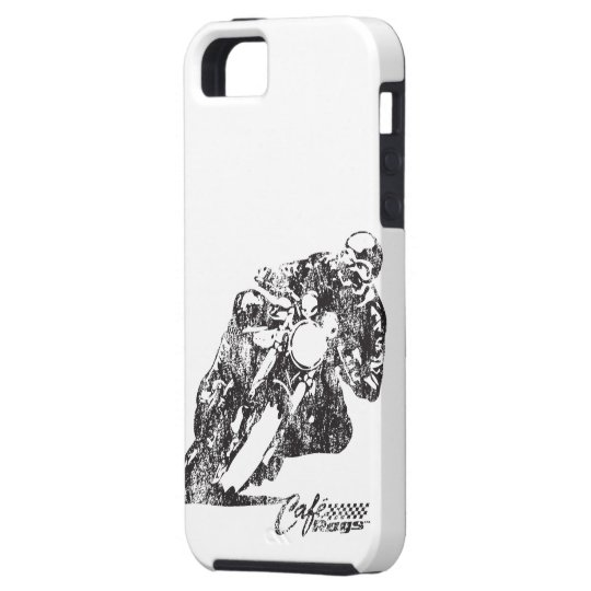 Cafe Racer Motorcycle Mean Lean Vintage Style iPhone