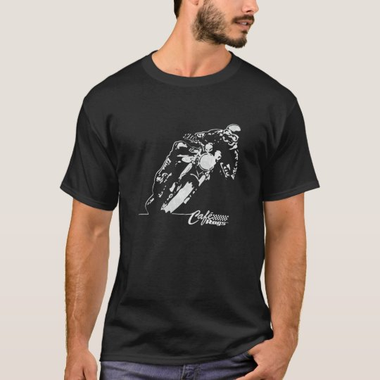 Cafe Racer Motorcycle Mean Lean Vintage Style T-Shirt