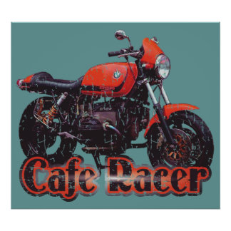 Cafe Racer Motorcycle Posters