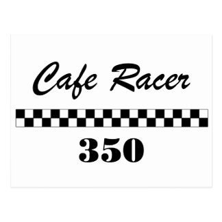 Cafe Racer Postcard