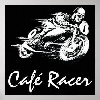 Café Racer Poster
