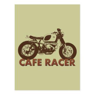 Cafe Racer Vintage Postcard