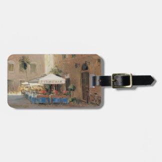 Café Roma Luggage Tag
