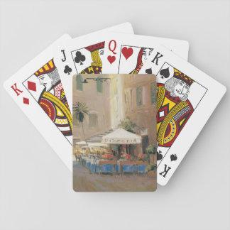 Café Roma Playing Cards