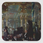 Cafe Royal, London, 1912 Square Sticker
