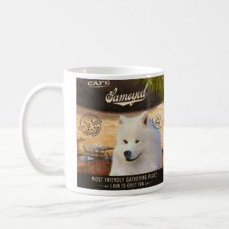 Cafe Samoyed Coffee Mug